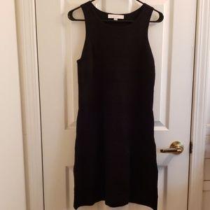 Loft Black Sweater Dress Small Petite